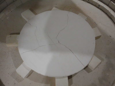 Mold Making For Slumping Mirrors In A Kiln